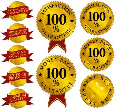 Set of Quality Seals
