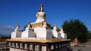 "Картина, постер, плакат, фотообои ""Белый padoda в Монголии"", артикул 4672654"