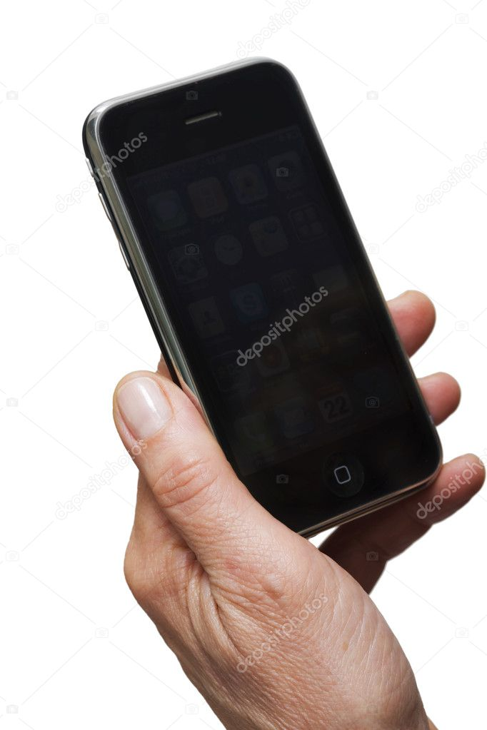 how to send pictures from iphone holding smartphone stock photo 169 ambrophoto 4520412 5622