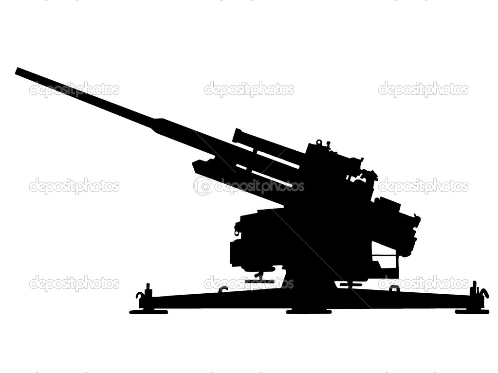 German 50 Mm Anti Tank Gun: Stock Vector © CD123 #4798250
