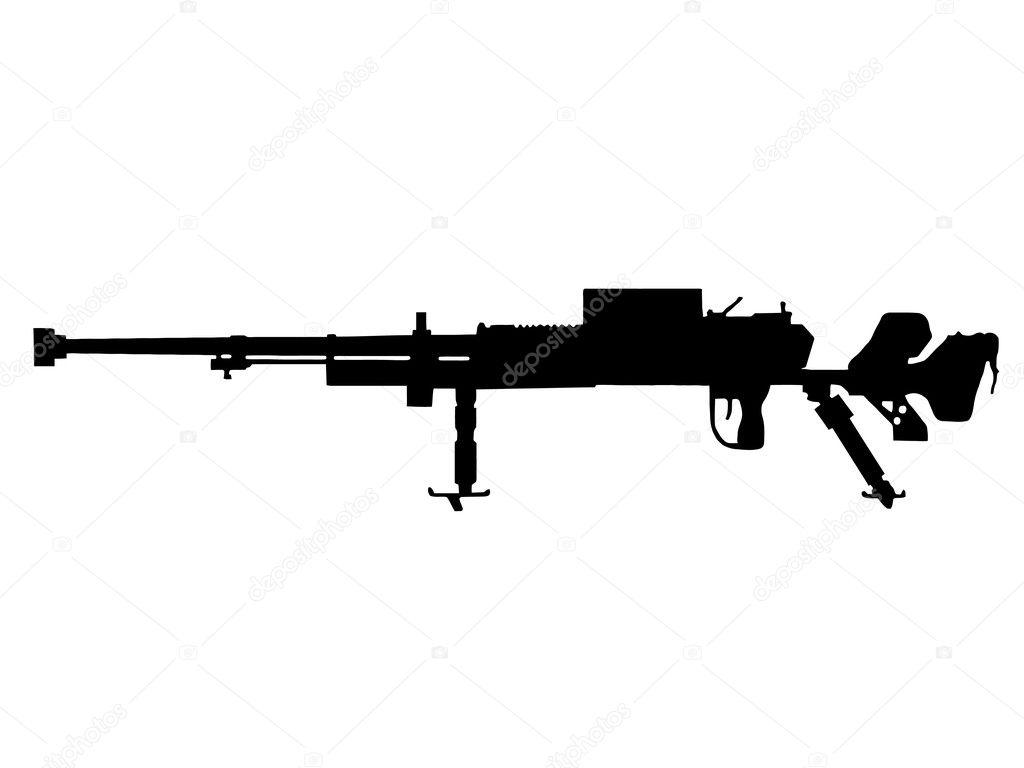 WW2 - Infantry Anti Tank Gun — Stock Vector © CD123 #4798279