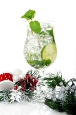 Mojito christmas drink