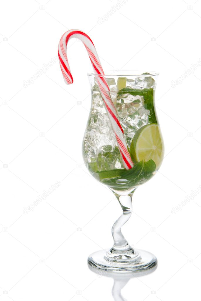 Christmas Mojito Cocktail