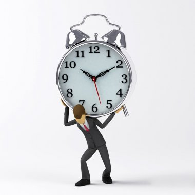 Deadline pressure concept