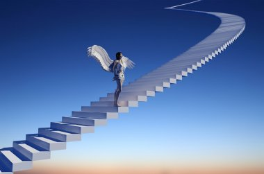 Staircase to heaven.