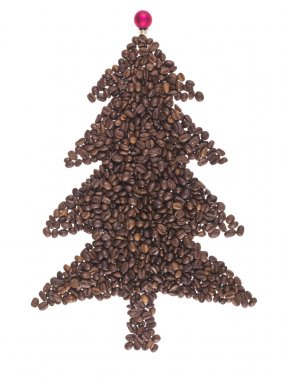 Fir made with the coffee in grain