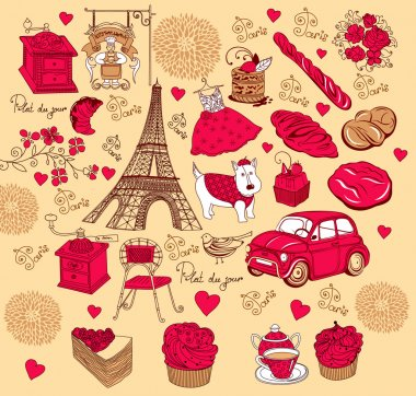 Collection symbols of Paris