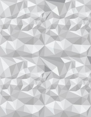 Triangles gray texture