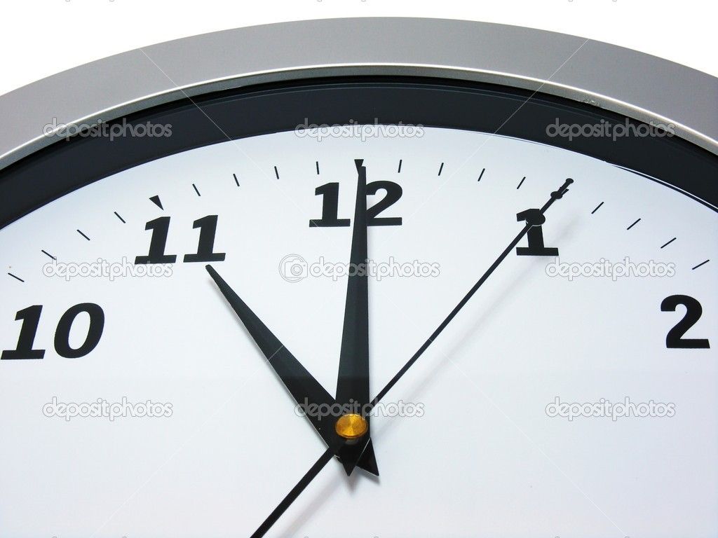 11 oclock on wall clock stock photo gcpics 4481369 top area of a wall clock showing 11 am pm photo by gcpics amipublicfo Gallery