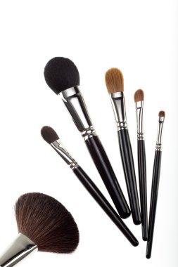 A set of 6 make-up brushes