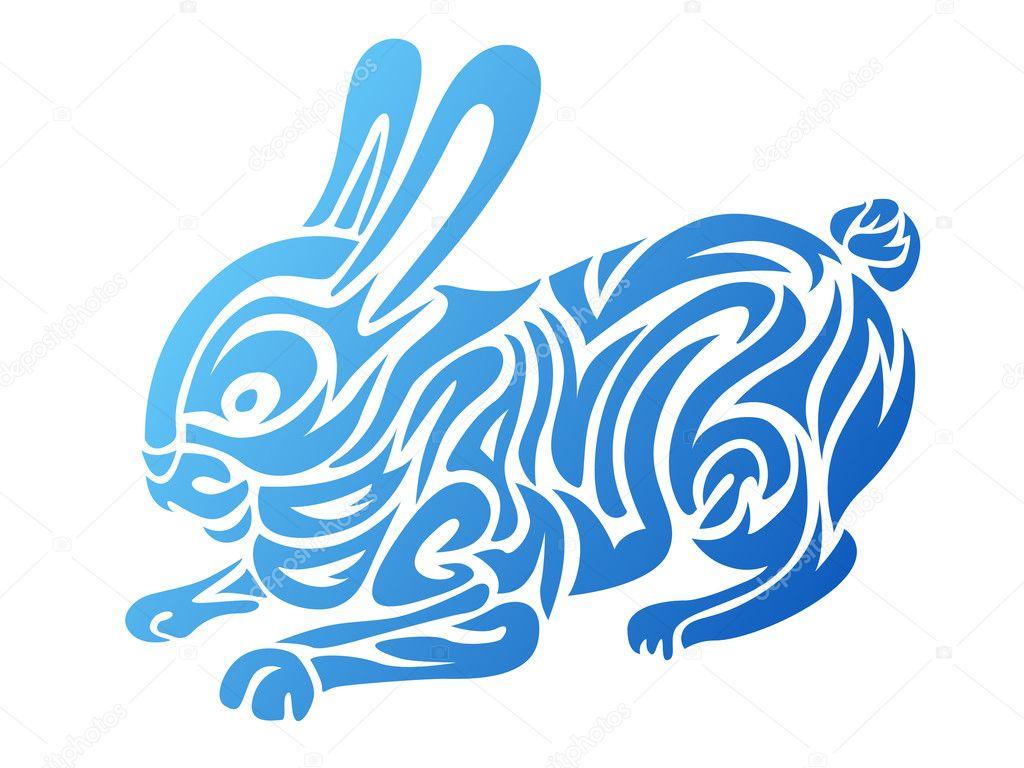 Stylized Rabbit