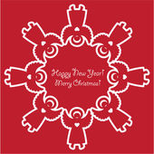 Template-of-New-Year-congratulation-is-a-Snowflake-from-emplate