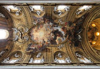 "Картина, постер, плакат, фотообои ""Церковь Джезу, Рим"", артикул 4432592"