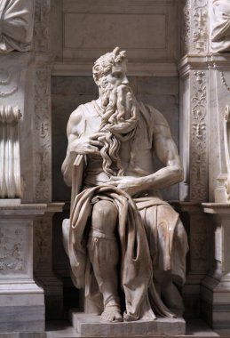 Moses by Michelangelo