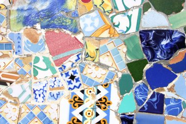Colorful mosaic texture