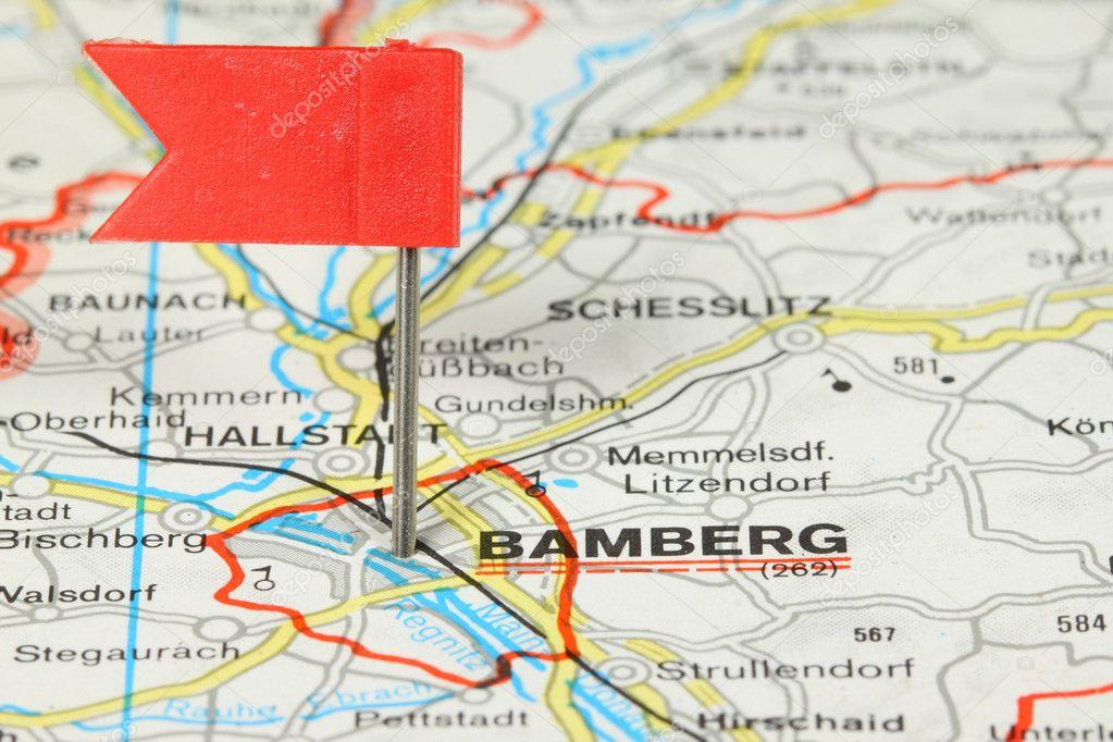 Karte Bamberg Landkarte.Bamberg Stockfoto C Tupungato 4510518