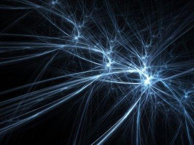 Blue sparks