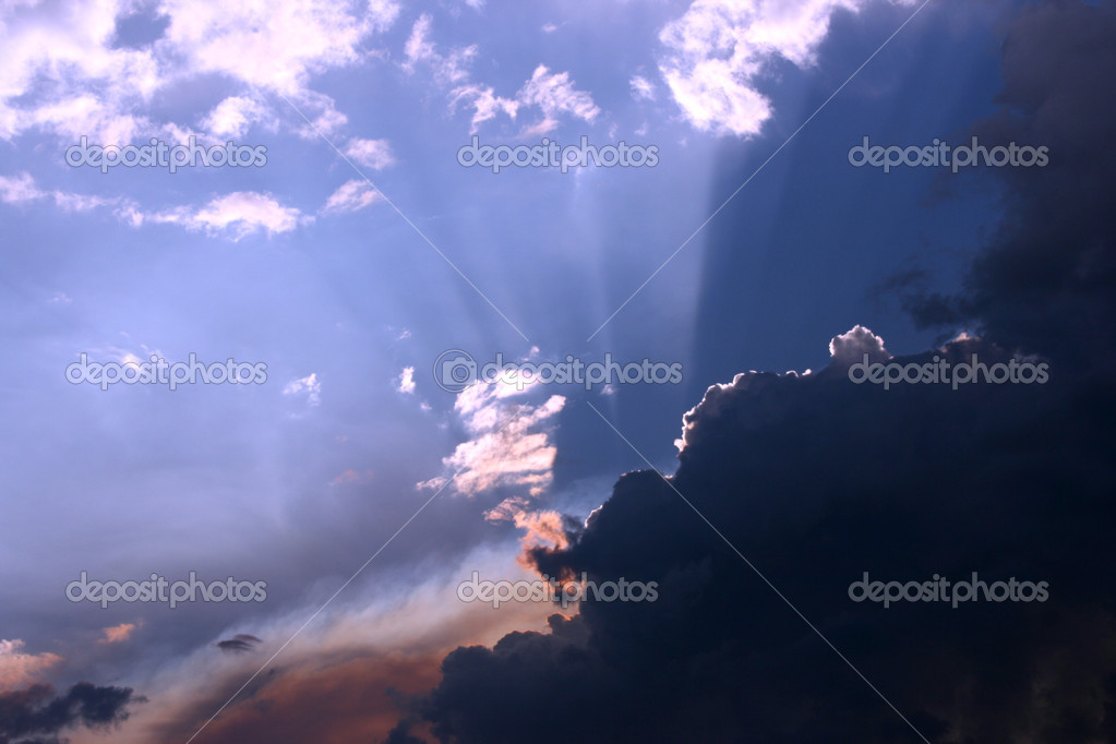 Sunset light magic