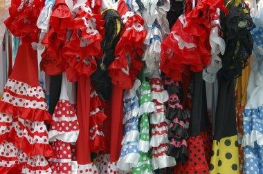 Andalusian flamenco costumes