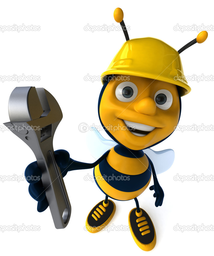 Cartoon Bee Stock Photo 169 Julos 4362911