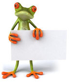 Frog 3d animated