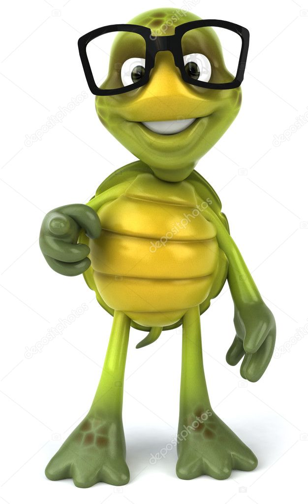 turtle in glasses 3d illustration ⬇ stock photo, image by © julos #4401310  depositphotos