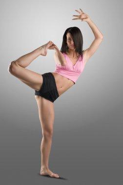 Stretching body