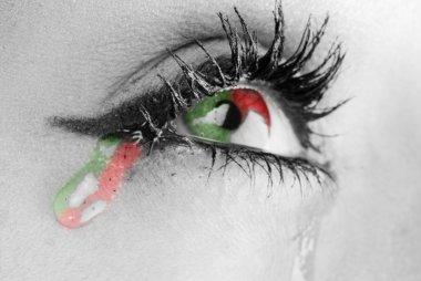 Three colors tears