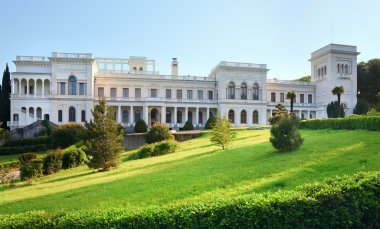Livadia Palace in Livadiya, Crimea, Ukraine.