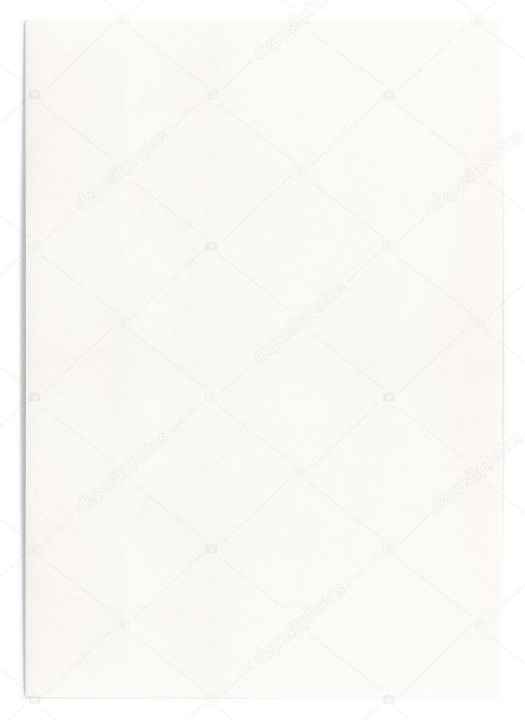 Sfondo di foglio bianco formato a4 foto stock - Foglio laminato bianco ...