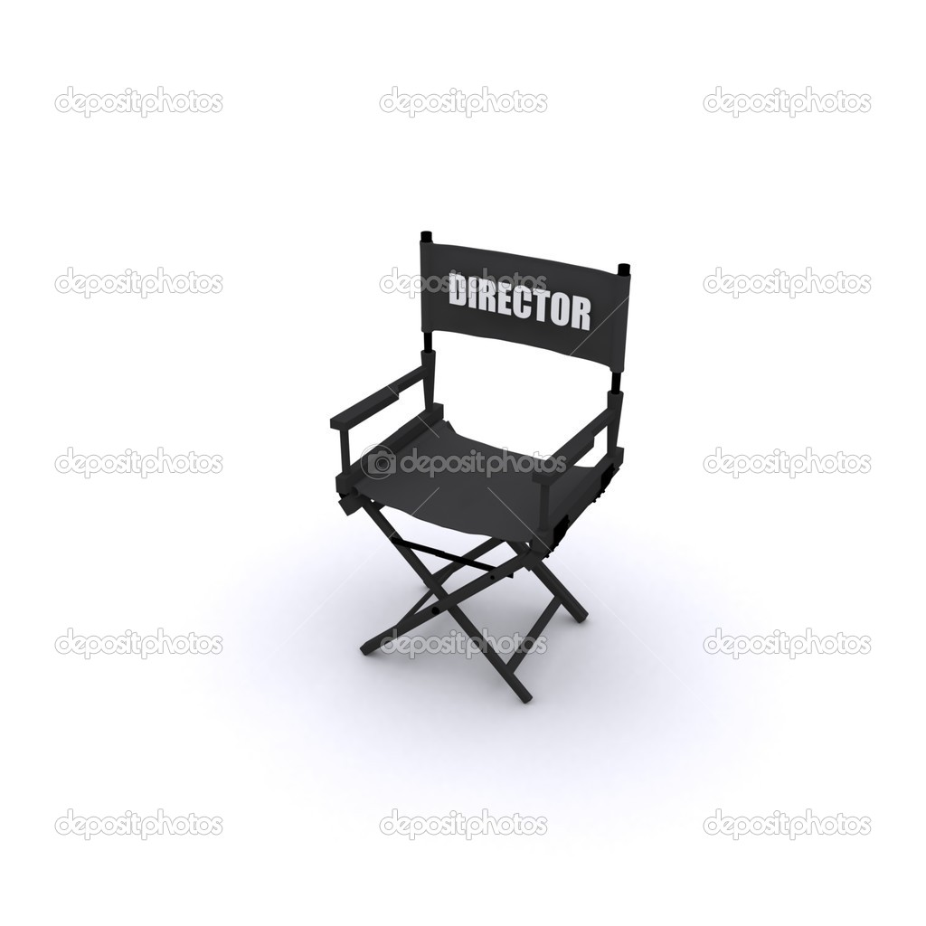 Directors Chair Design Stock Photo baavli 5242223