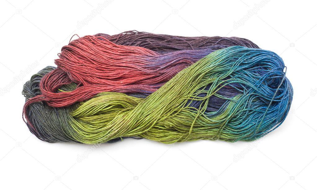 красивые руки окрашенные тонкий вязание пряжа с длинных разделы
