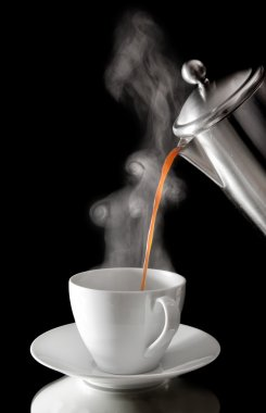 Coffee, pouring