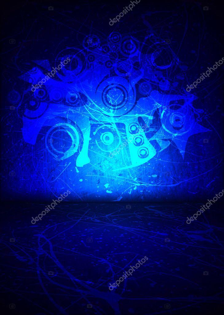6ac547fa2b848 tło ciemne tło ciemny niebieski kolor — Zdjęcie stockowe © Westa ...