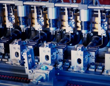 Electronic component production