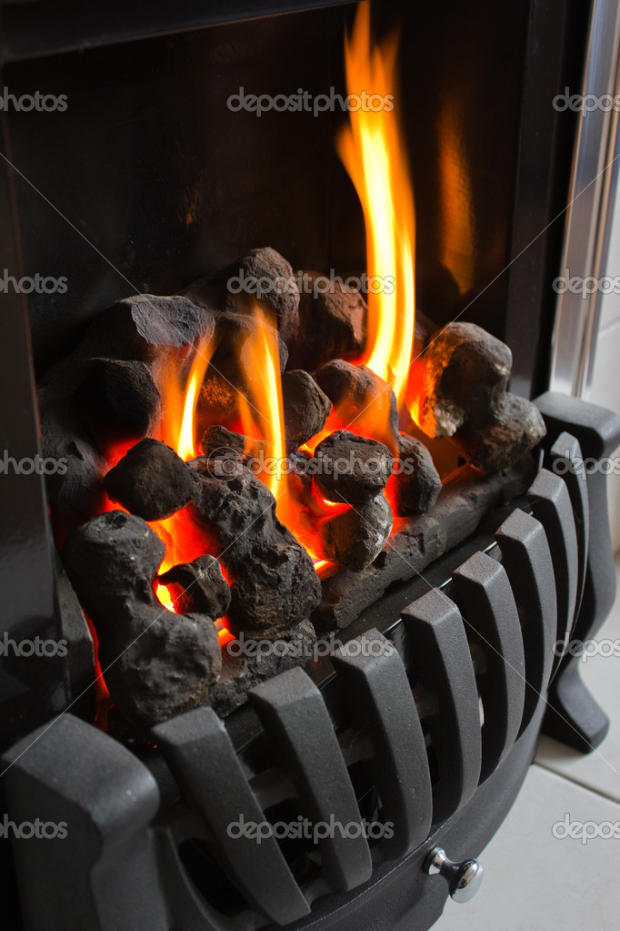Cosy warm fire