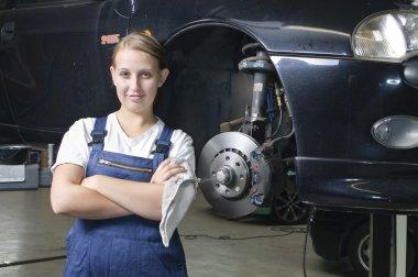 Auto Repair trainee is satisfied
