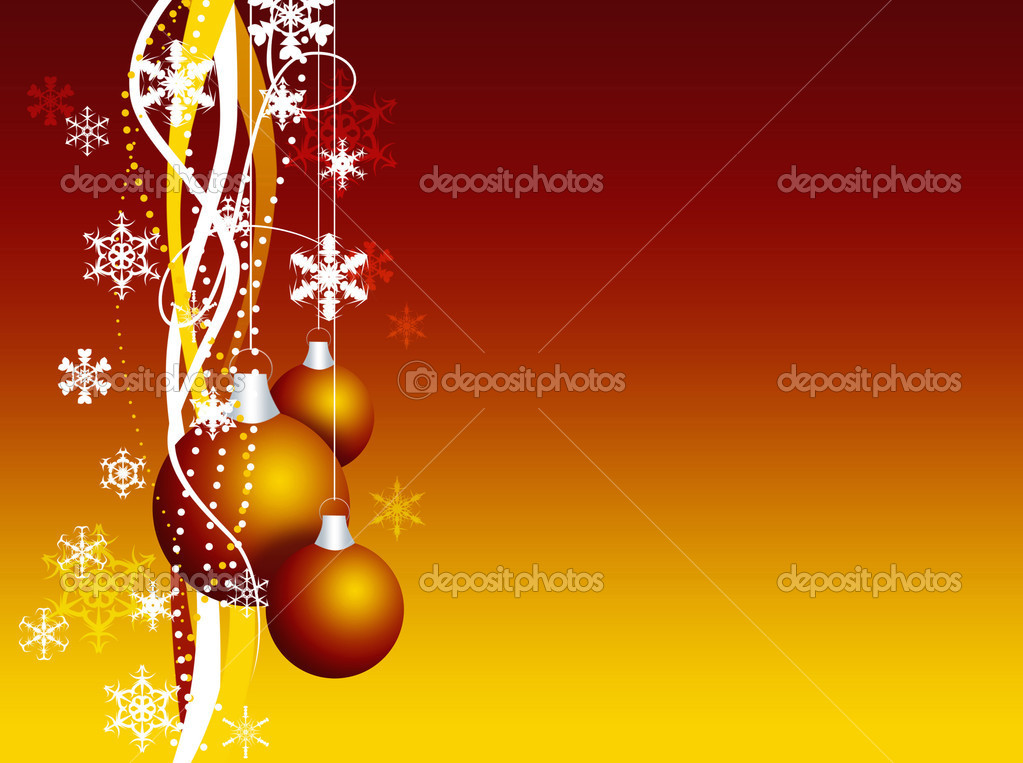 Christmas Ornaments Wallpaper Stock Photo C Blacktulip 4462044