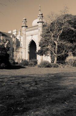 Royal pavilion in brighton in England