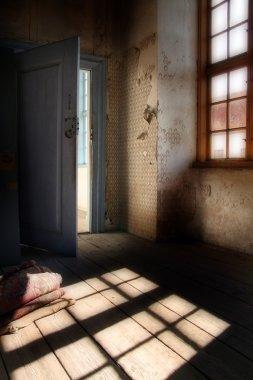 Spooky attic room