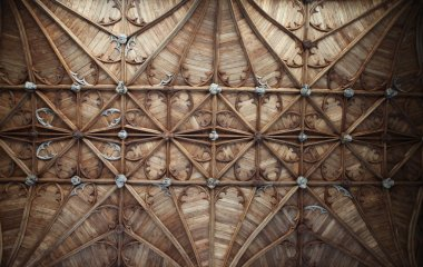 Church ceiling Fitzalan Chapel England