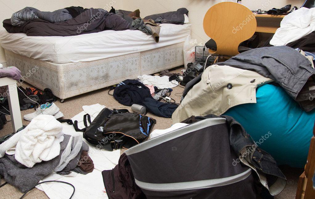 Bedroom messy room Stock Photo tlorna 4574171