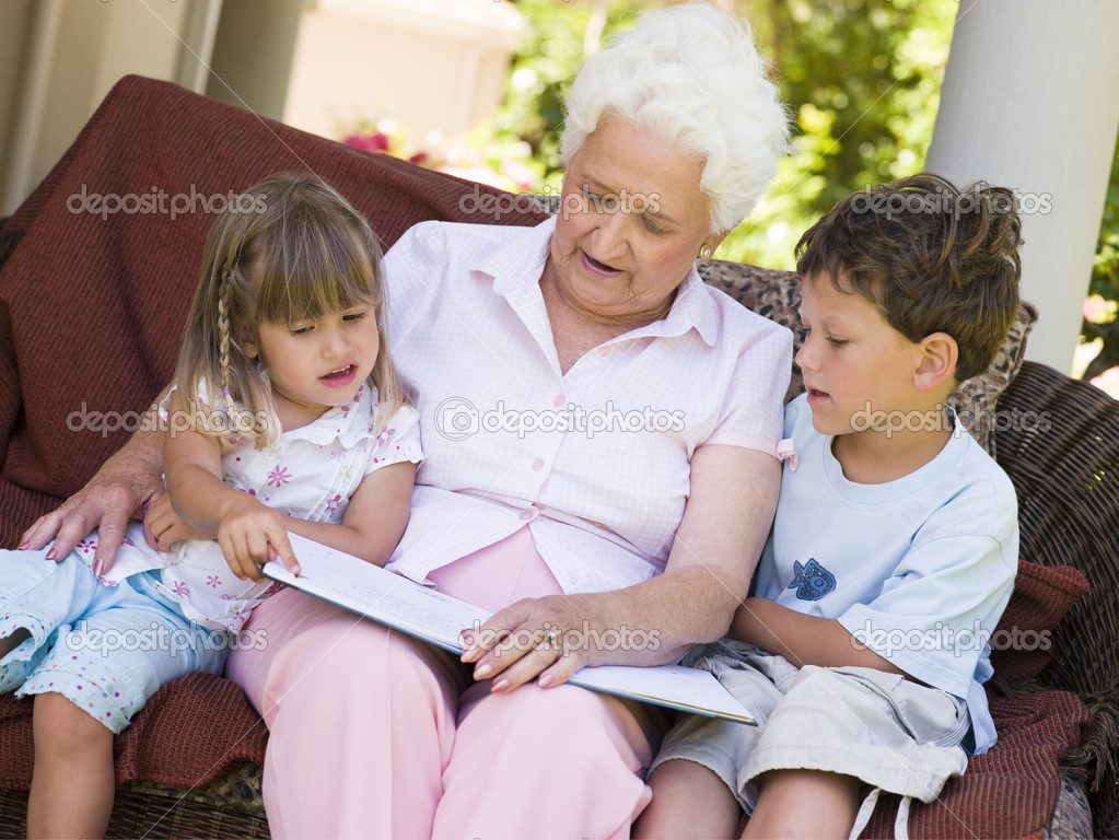 мать сасет у внука