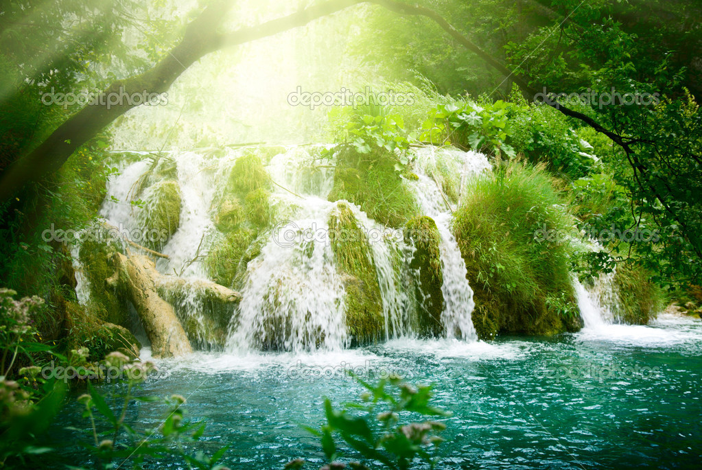 relaxing nature waterfall sounds -