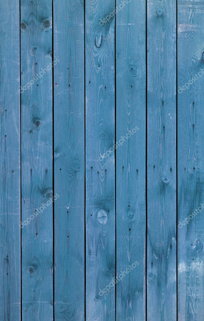 Blue wooden boards, texture, background, detail