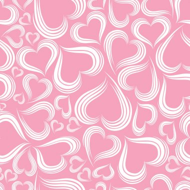 Excellent seamless valentine background. Vector illystration. clip art vector