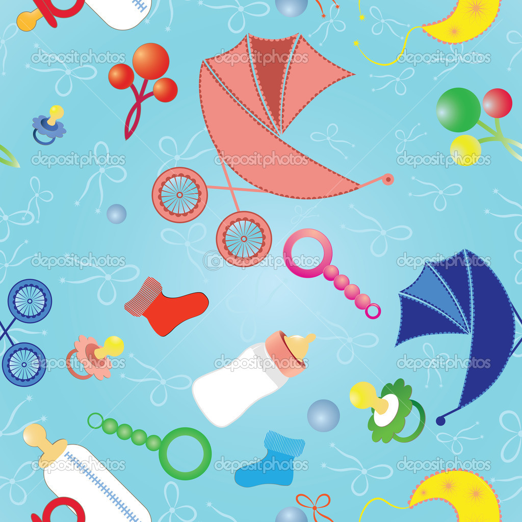 Unisex Baby Backgrounds Seamless backgr...