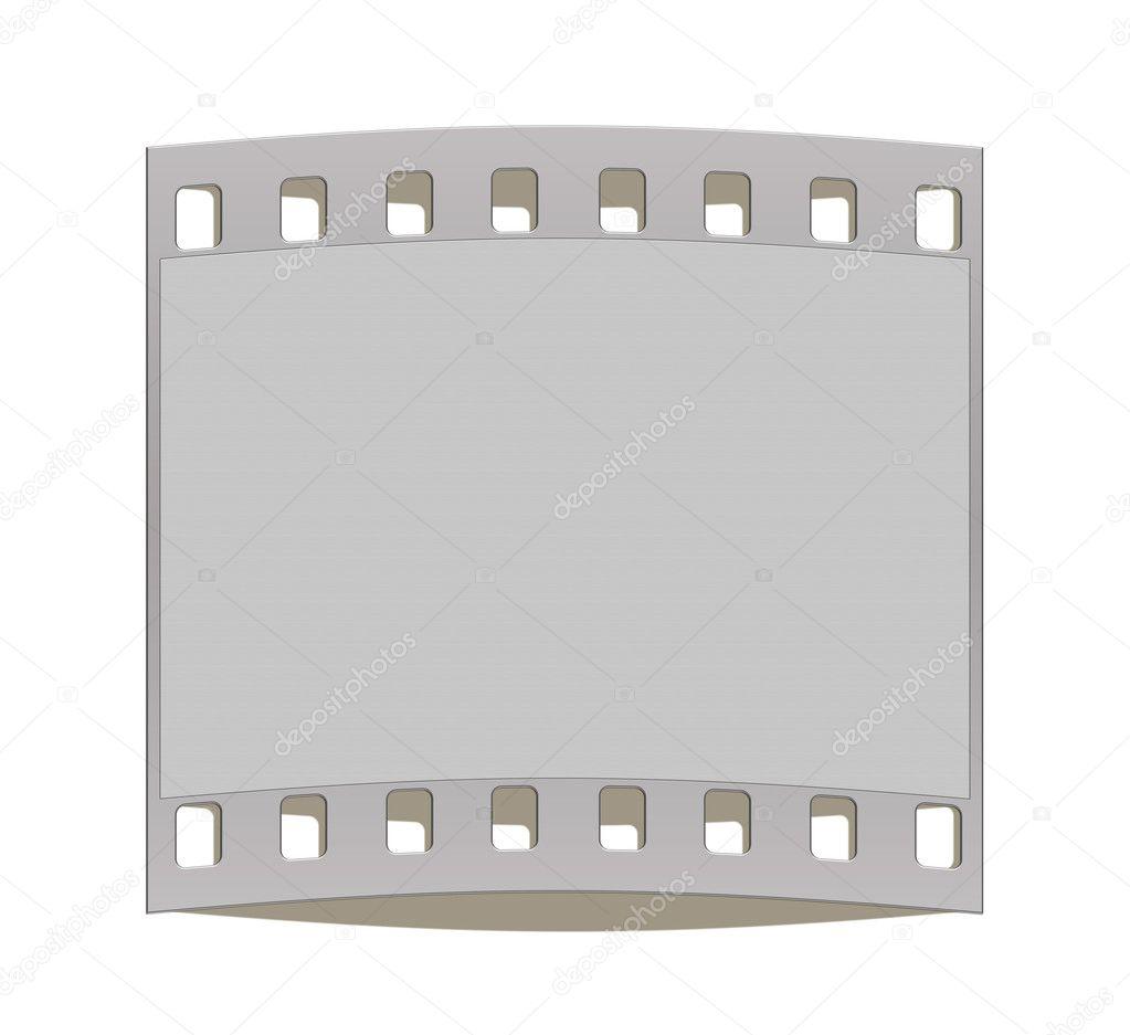 fotogramas de marco de tira de película 35mm — Fotos de Stock ...