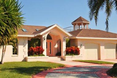 Modern Ranch style home with gazebo