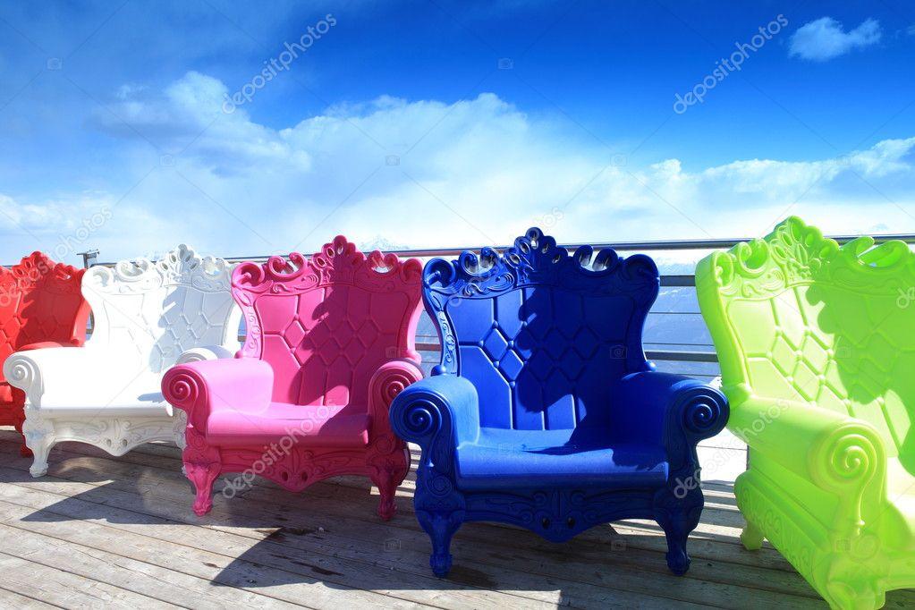 Sillones Coloridos.Sillones Coloridos Fotos De Stock C Bvb1981 4541418